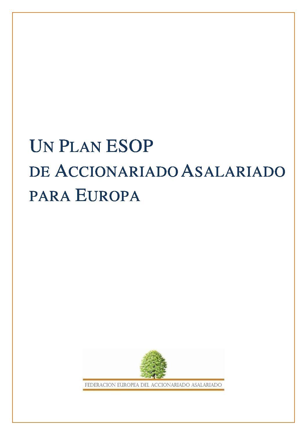 Un Plan ESOP de Accionario Asalariado para Europa