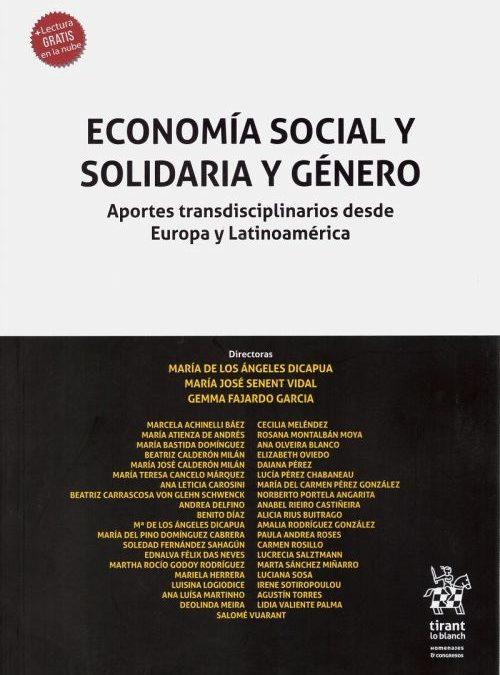NUEVA PUBLICACIÓN: ECONOMÍA SOCIAL Y SOLIDARIA Y GÉNERO. APORTES TRANSDISCIPLINARIOS DESDE EUROPA Y LATINOAMÉRICA